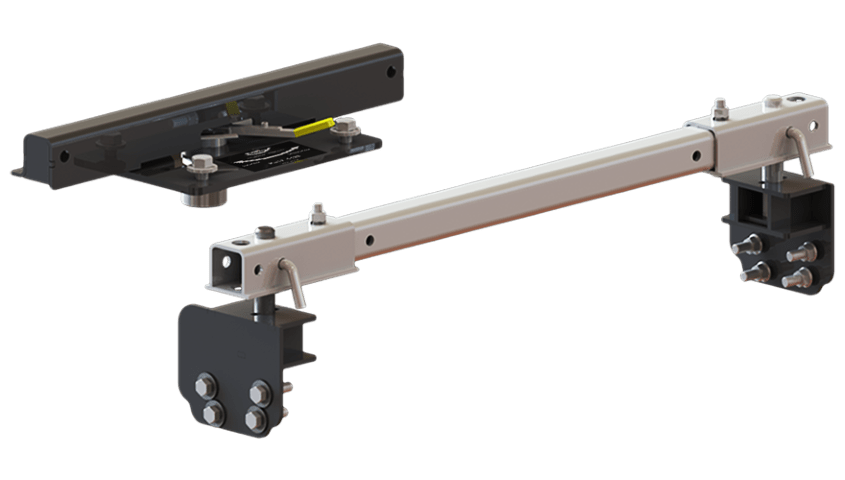Above Bed 5th Wheel Hitch System