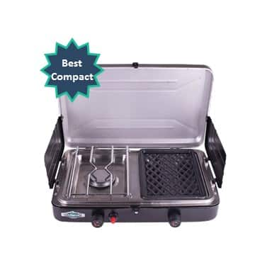 best compact camping grill stove combo