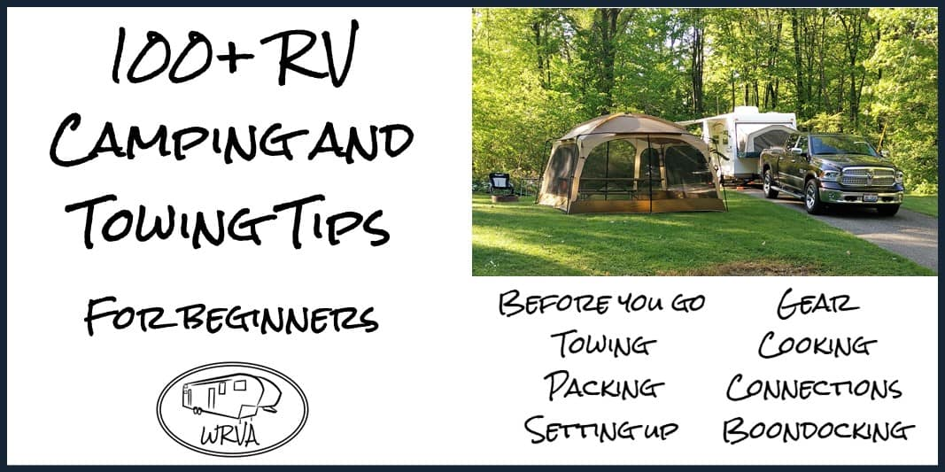 RV Camping Tips for beginners