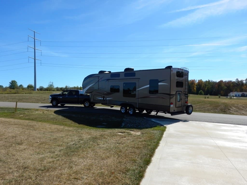How to backup a travel trailer (tips, tricks and tools)