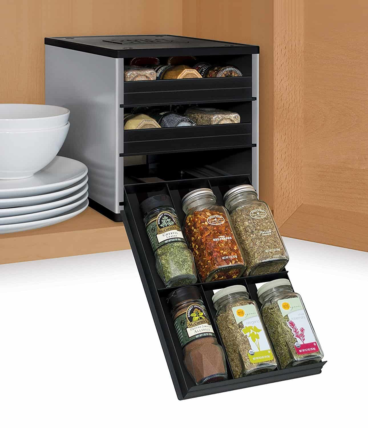 SpiceStack Bottle Organizer