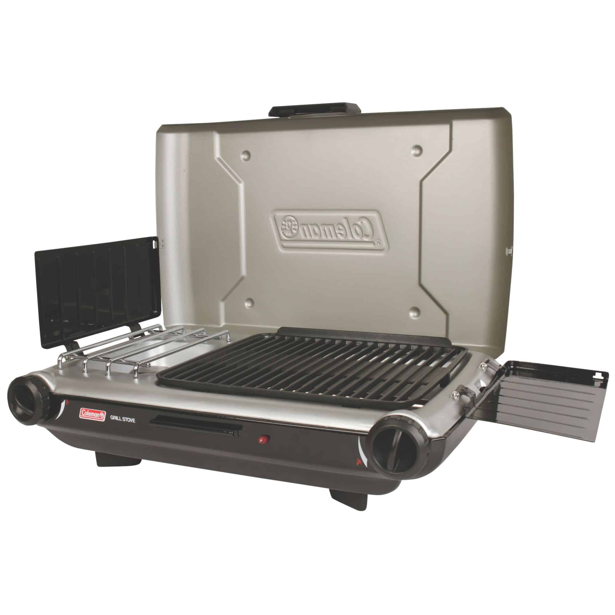 Nexgrill Stainless Steel Portable Propane Gas Table Top Grill delivers high grilling results. Lockable lid and foldable legs for easy adoption-funds.ml: $