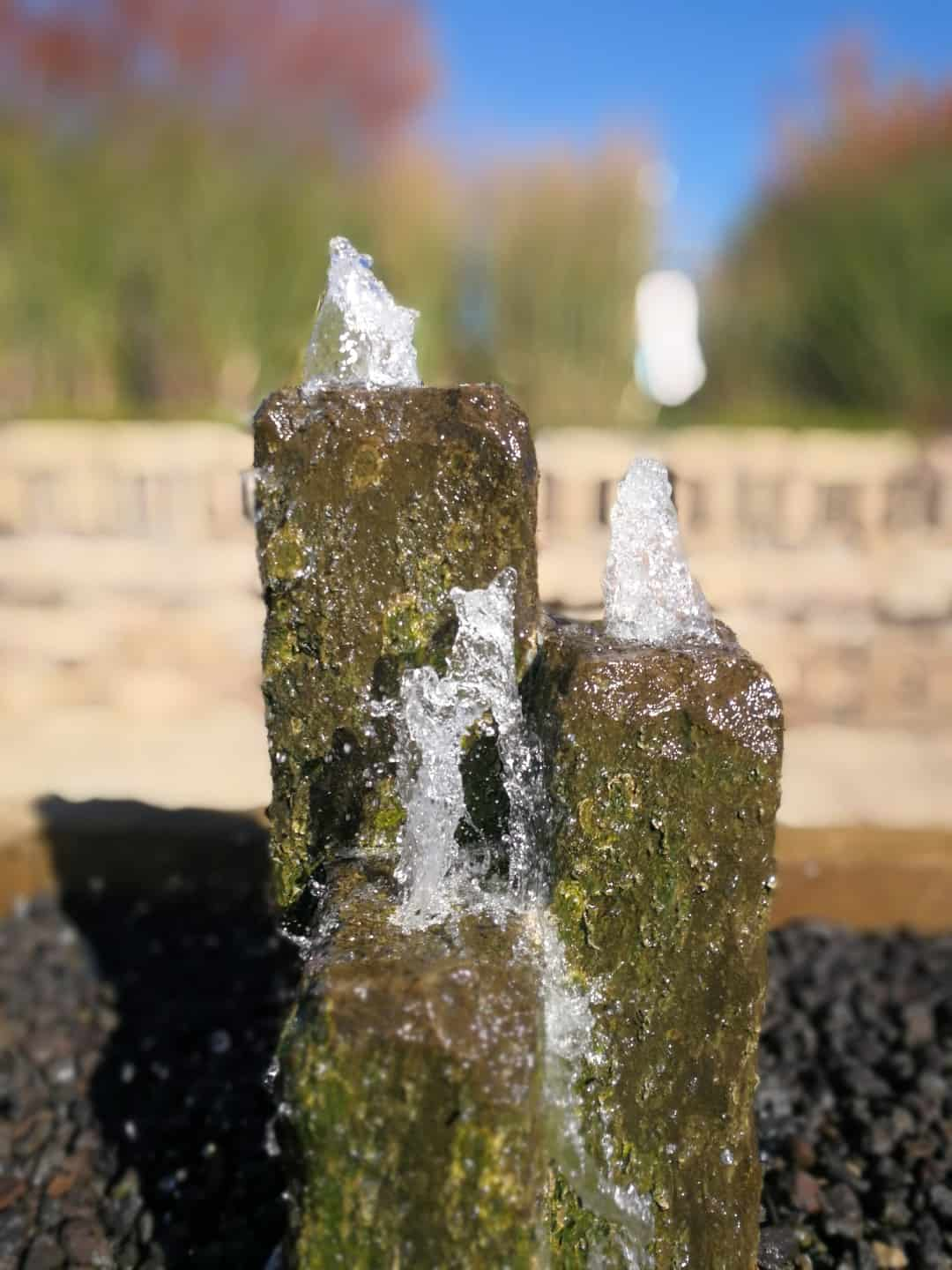 Whispering Hills Jellystone fountain