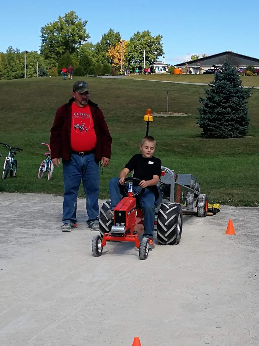 Whispering Hills Jellystone pedal tractor pull