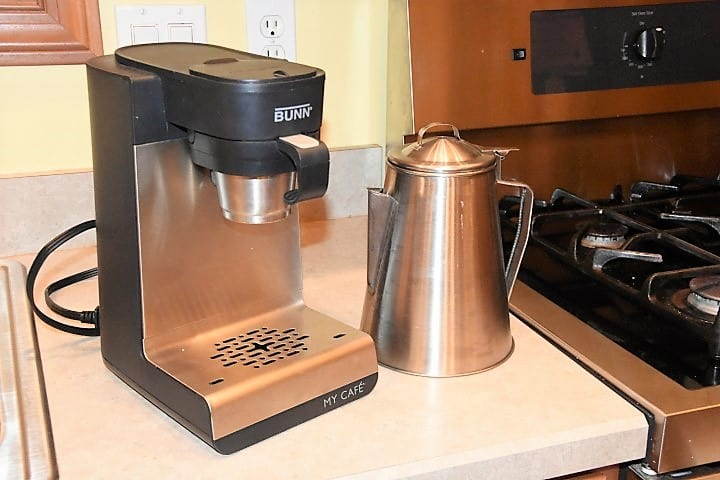 BUNN My Cafe MCU and percolator coffee makers