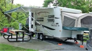 Can you keep your RV awning out during rain? (and more ...