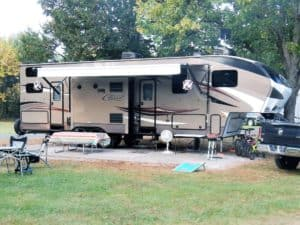 Can you keep your RV awning out during rain? (and more