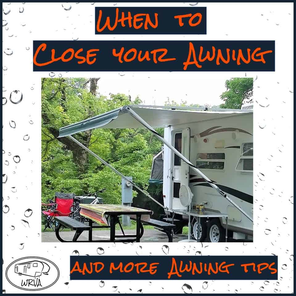 Can You Keep Your Rv Awning Out During Rain And More